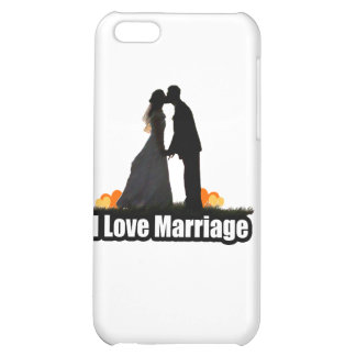 I Love Marriage Kiss the Bride iPhone 5C Cover