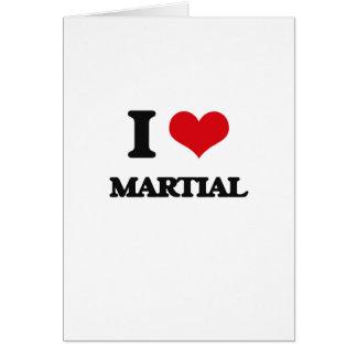I Love Martial Cards