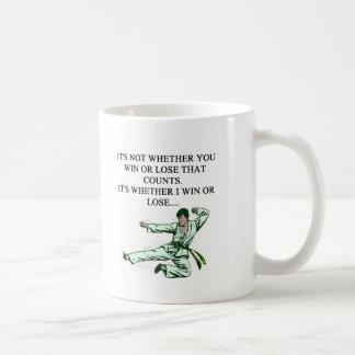 i love martiel arts coffee mugs
