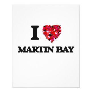 I love Martin Bay Michigan 11.5 Cm X 14 Cm Flyer