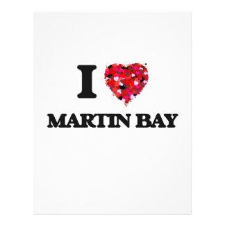 I love Martin Bay Michigan 21.5 Cm X 28 Cm Flyer