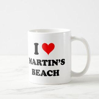 I Love Martin'S Beach California Coffee Mug
