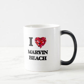 I love Marvin Beach Connecticut Morphing Mug