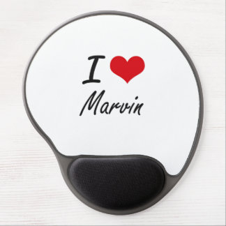 I Love Marvin Gel Mouse Pad
