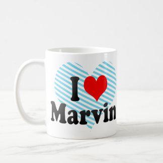 I love Marvin Basic White Mug