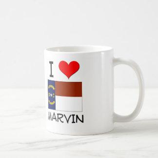 I Love Marvin North Carolina Basic White Mug