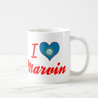 I Love Marvin, South Dakota Classic White Coffee Mug