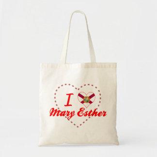 I Love Mary Esther, Florida Canvas Bag