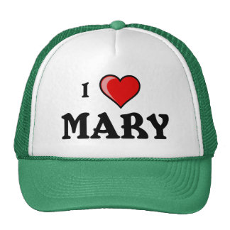 I Love Mary Hats