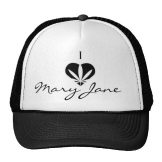 i love mary jane trucker hat