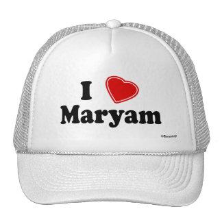 I Love Maryam Cap