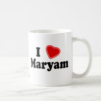 I Love Maryam Coffee Mugs