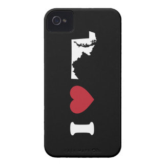 I Love Maryland Case-Mate iPhone 4 Cases