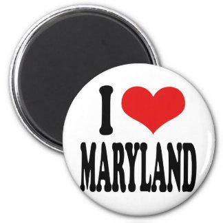 I Love Maryland Magnet