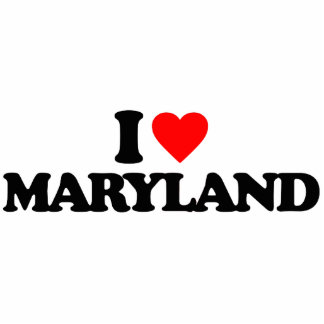 I LOVE MARYLAND PHOTO CUT OUT