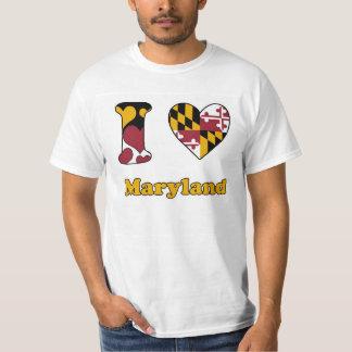 I love Maryland Tee Shirt