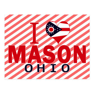 I love Mason Ohio Post Cards
