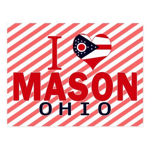 I love Mason, Ohio Post Cards