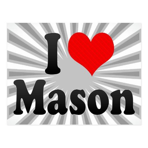 I love Mason Post Cards