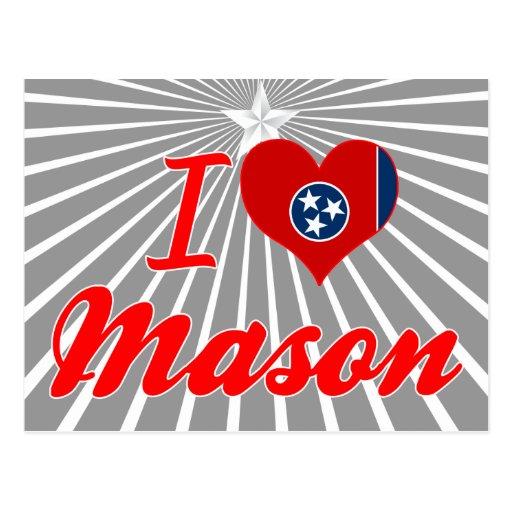 I Love Mason, Tennessee Postcards