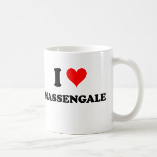 I Love Massengale Georgia Basic White Mug