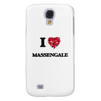 I love Massengale Georgia Galaxy S4 Case