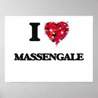 I love Massengale Georgia Poster