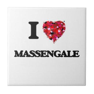 I love Massengale Georgia Small Square Tile