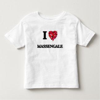 I love Massengale Georgia Toddler T-Shirt