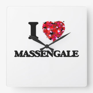 I love Massengale Georgia Wallclocks