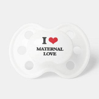 I Love Maternal Love BooginHead Pacifier
