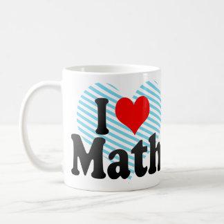 I love Math Basic White Mug