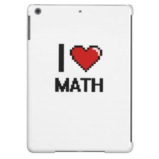 I Love Math Digital Design iPad Air Cover