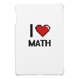 I Love Math Digital Design Cover For The iPad Mini