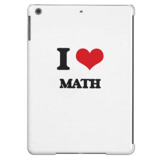 I Love Math iPad Air Covers