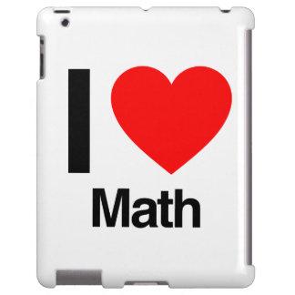 i love math iPad case