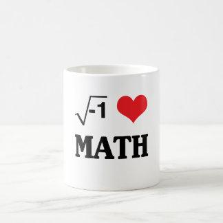 I Love Math Morphing Mug