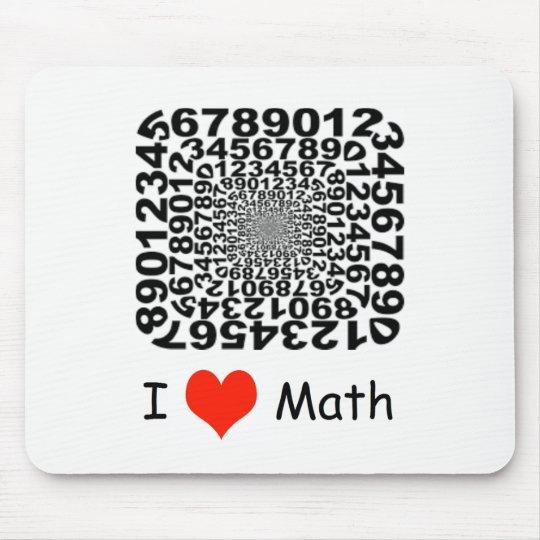 I Love Math Mouse Mat