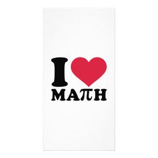 I love math Pi Photo Greeting Card