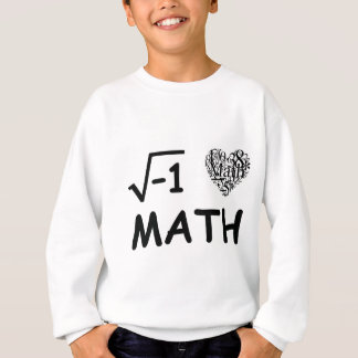 I love math sweatshirt