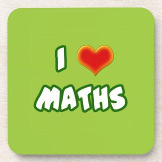 I LOVE MATHS - GREEN MODEL POSAVASOS