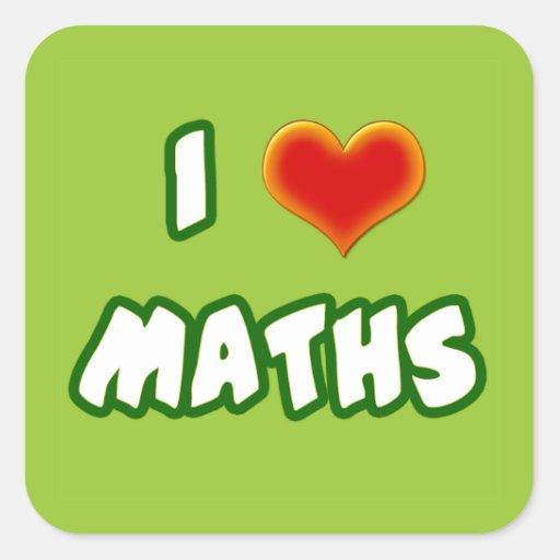 I LOVE MATHS - GREEN MODEL