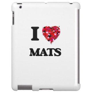 I Love Mats iPad Case