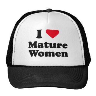 I love mature women hats