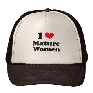 I love mature women mesh hat
