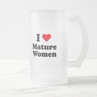 I love mature women mugs