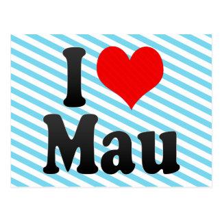 I Love Mau, India Postcard