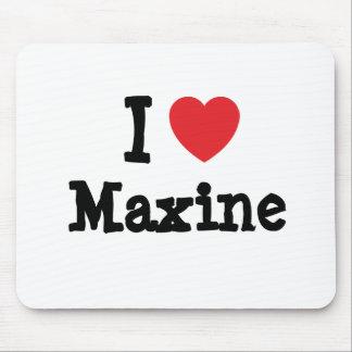I love Maxine heart T-Shirt Mouse Mat