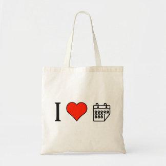 I Love Mayan Calendar Budget Tote Bag