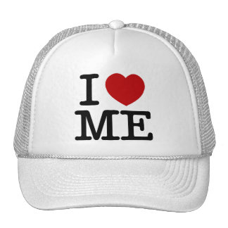 I Love Me Heart Me self esteem confidence dignity Cap